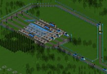 openttd creating a-ro-ro station