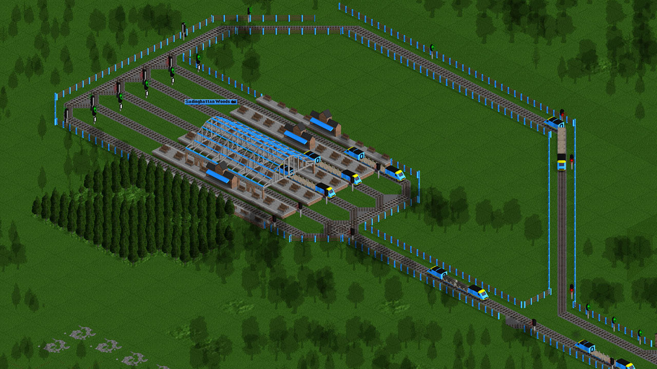 Creating a Ro-Ro station - OpenTTD - Gameplayinside