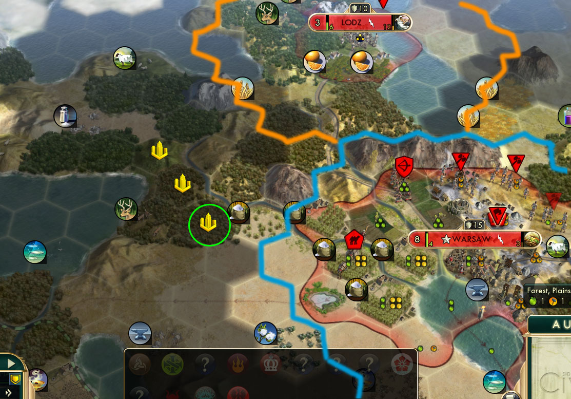 civ v brave new world city placement tiles overlap when building a new city