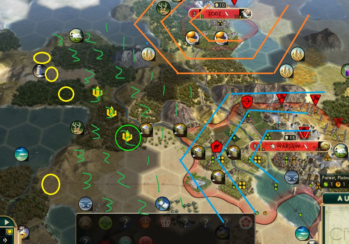 civ v brave new world city placement using paint to prevent tile overlap when building a new city