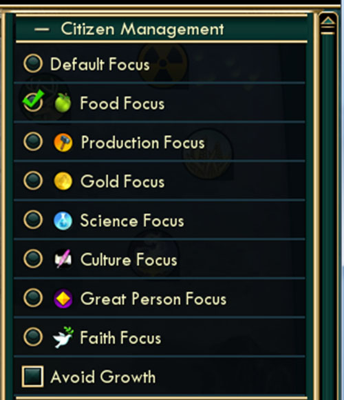 Civilization V Basics Citizen Management