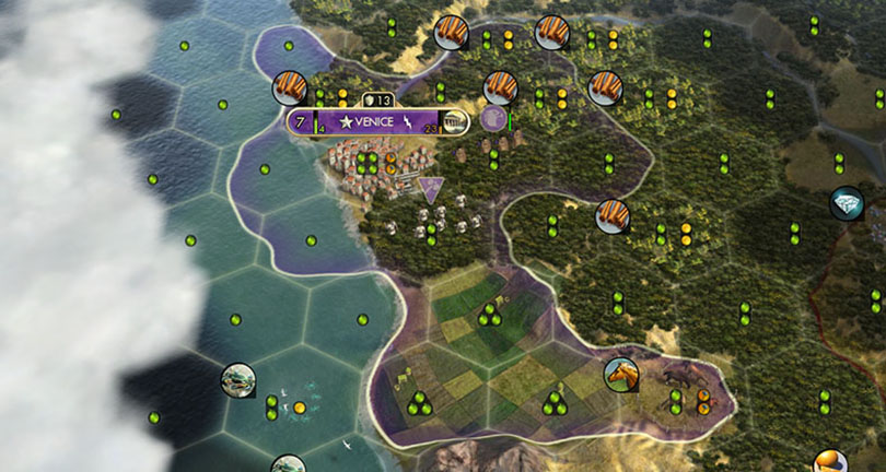 Civilization V Basics Guide territory and borders