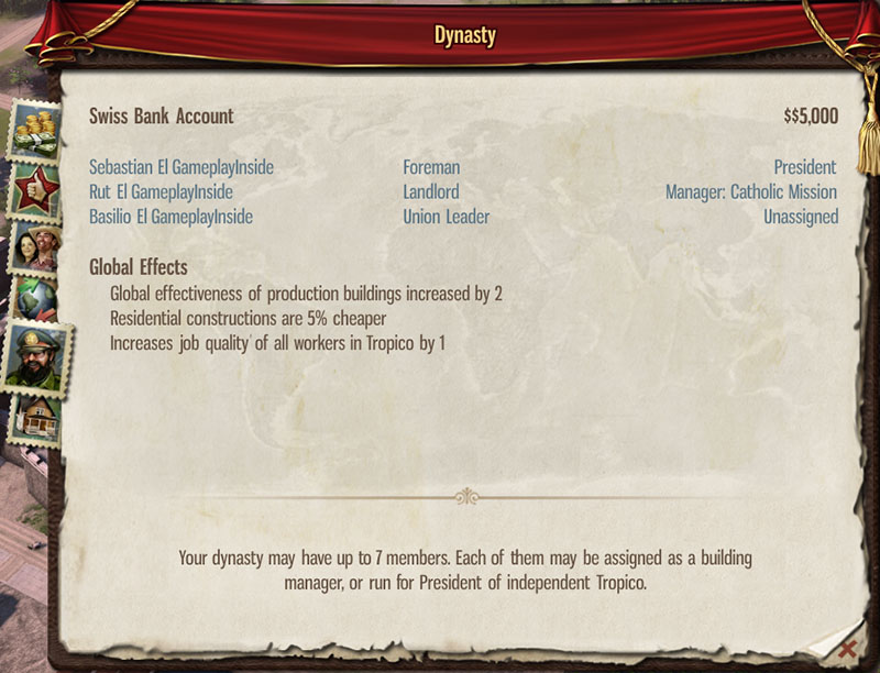 tropico 5 dynasty guide