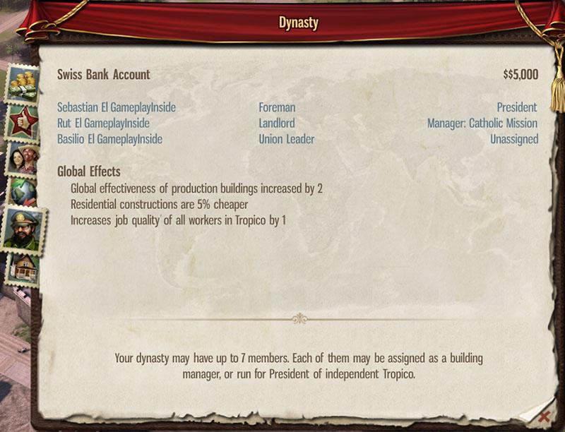 tropico 5 dynasty guide