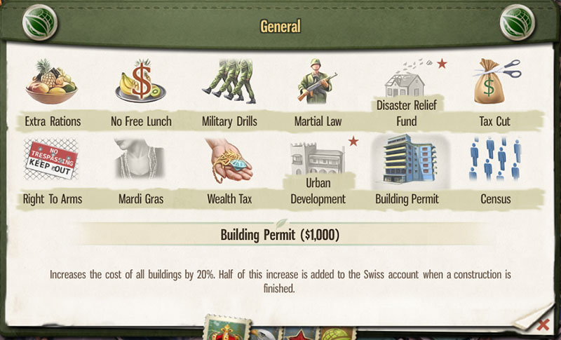 tropico5 edict building permit