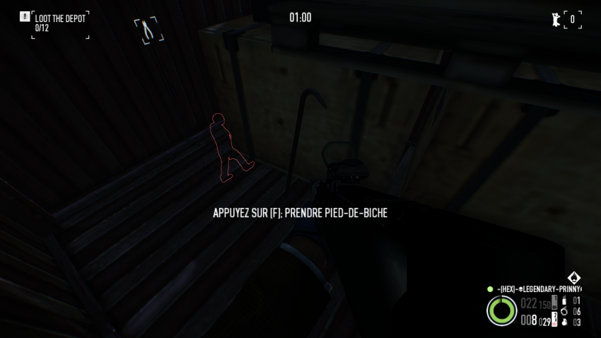 Location of the crowbar on a murkywater container in Shadow Raid Heist