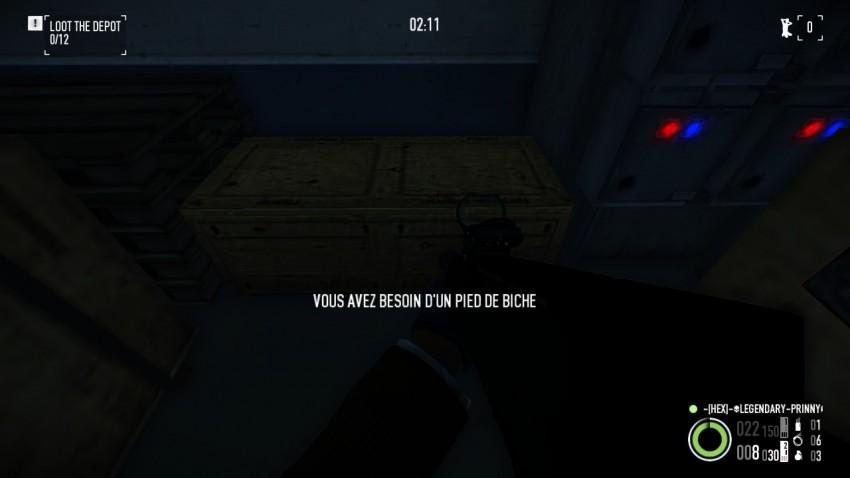 A normal crate in Shadow Raid Heist
