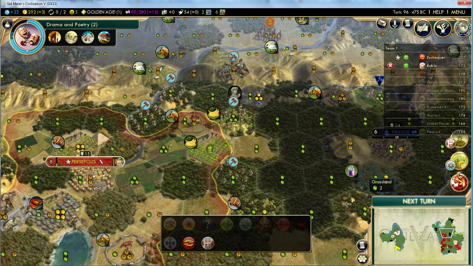 Civilization 5. Cheats and Game Review 88