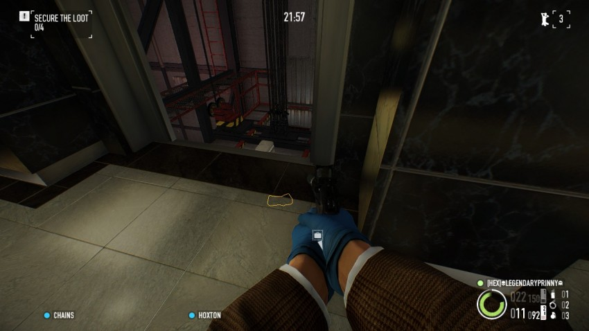 payday2 big bank heist guide elevator door opened
