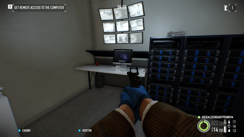Payday 2 The Big Bank Heist the server room
