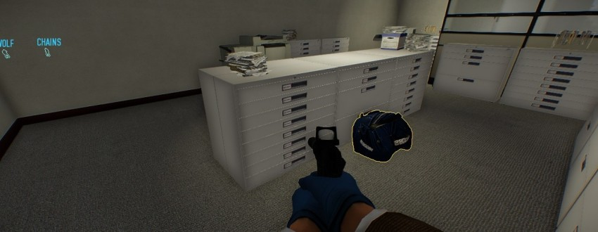 Payday 2 The Big Bank Heist safe spot to place a body bag