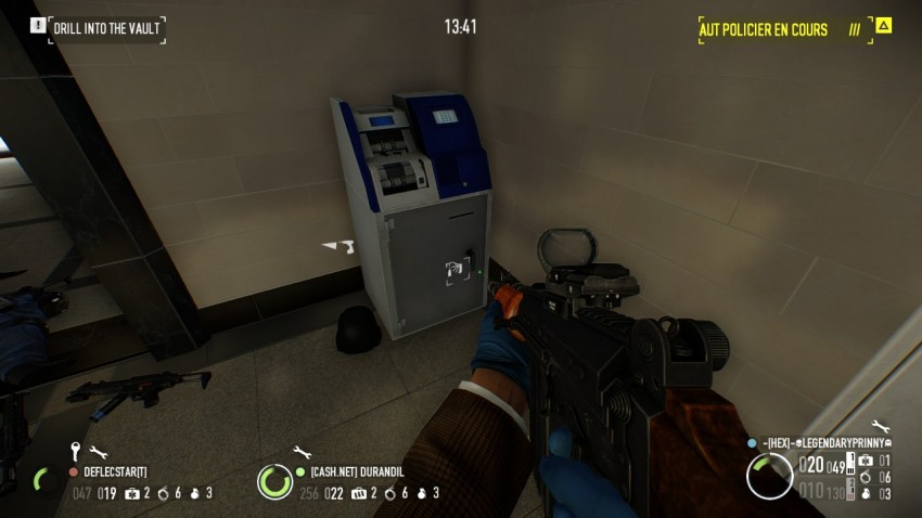 grey atm in payday2  the big bank heist