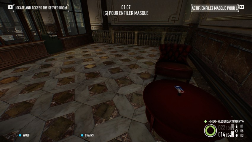 keycard location in Payday2 The Big Bank Heist