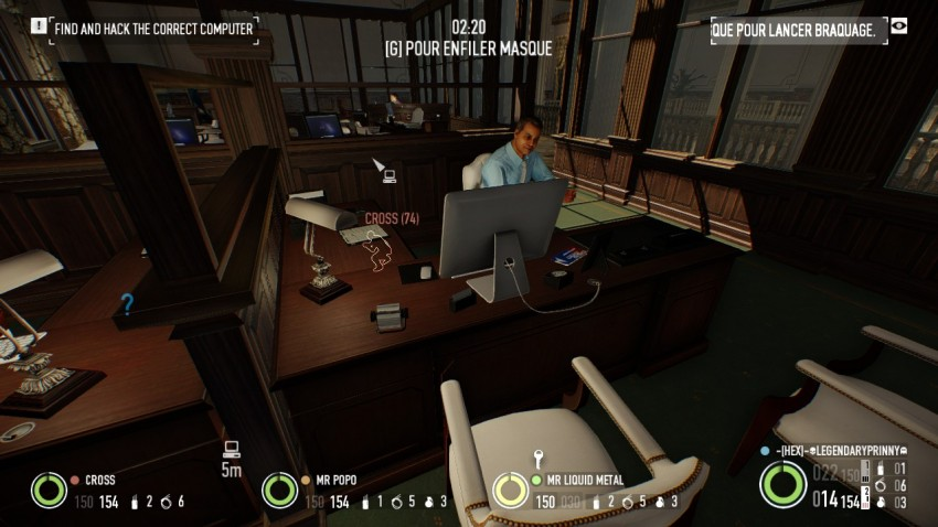Keycard location in the office area in payday 2