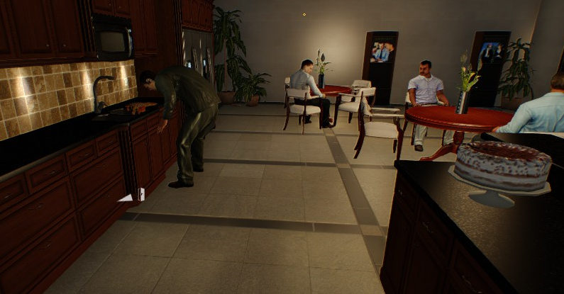 payday2 big bank heist guide insider help poisoned cake at the canteen