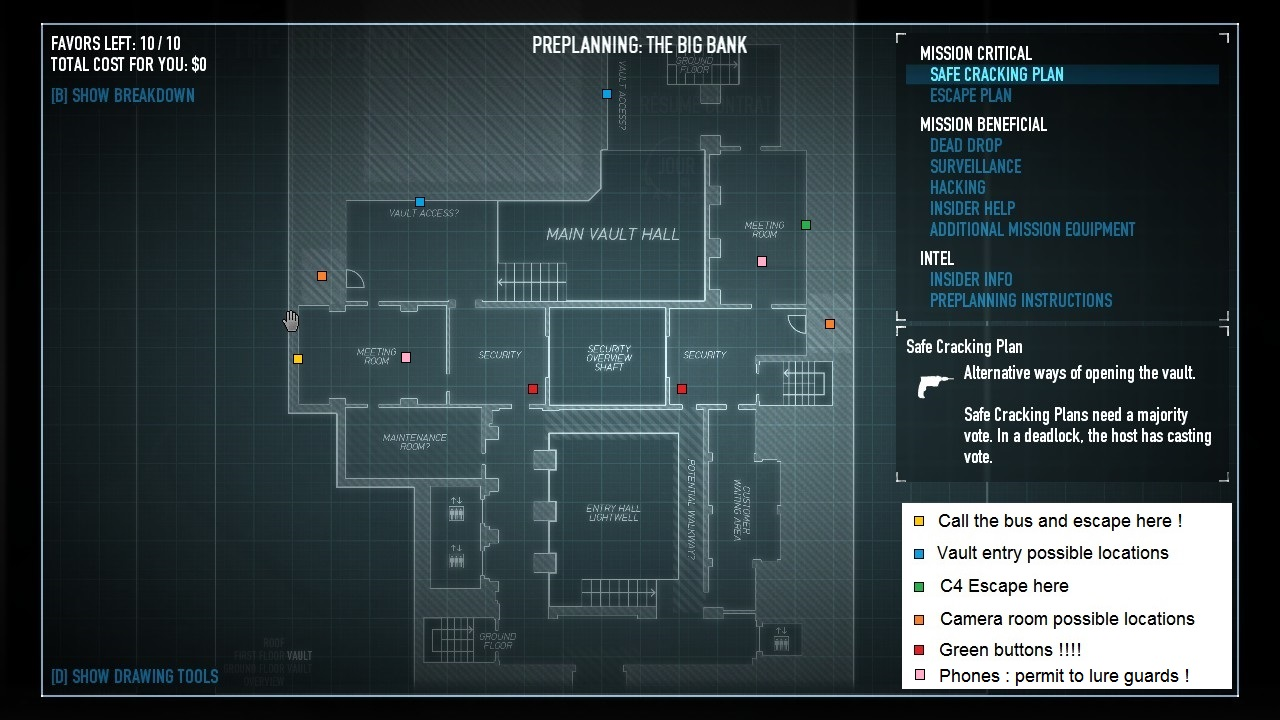 Payday 2 The Big Bank Heist Preplanning And New Stuff