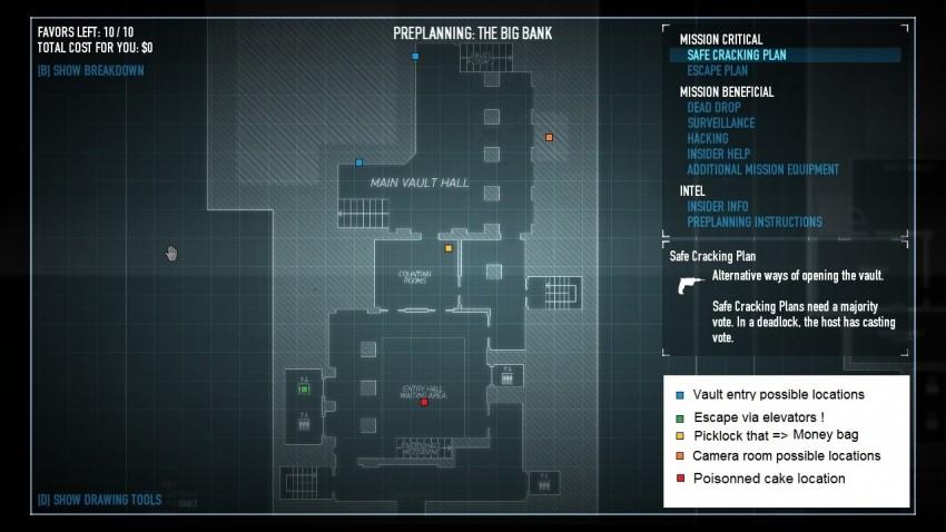 payday2 big bank heist guide vault area ground floor