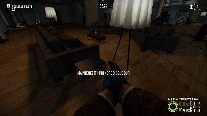 Location of  a hard drive  in Payday 2 Framing Frames