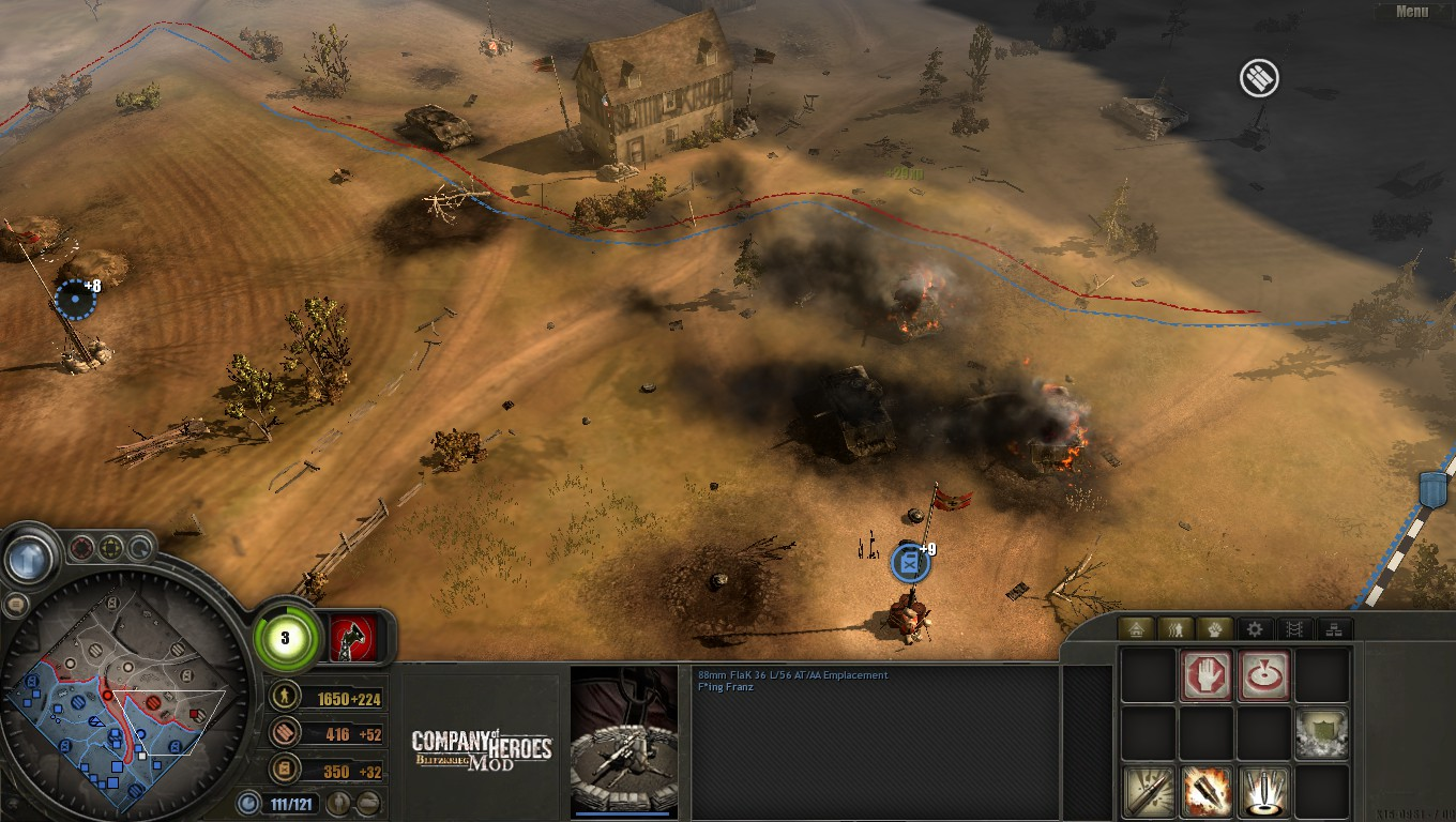 Company of Heroes Blitzkrieg Mod Review - GameplayInside
