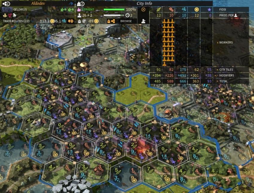 Endless Legend Build City On Resource
