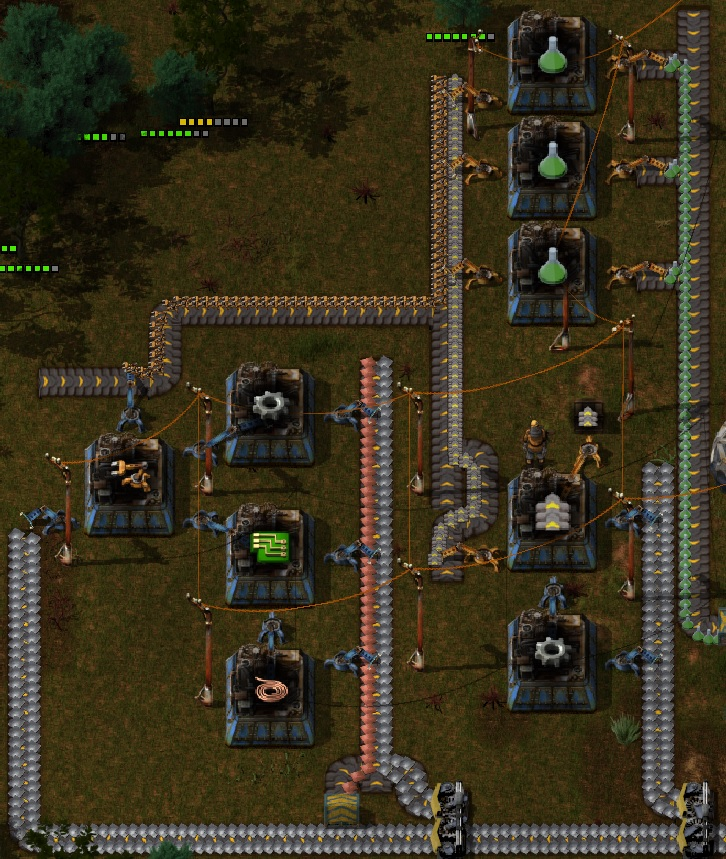 Factorio Guide - Green Science Pack Automation in a few