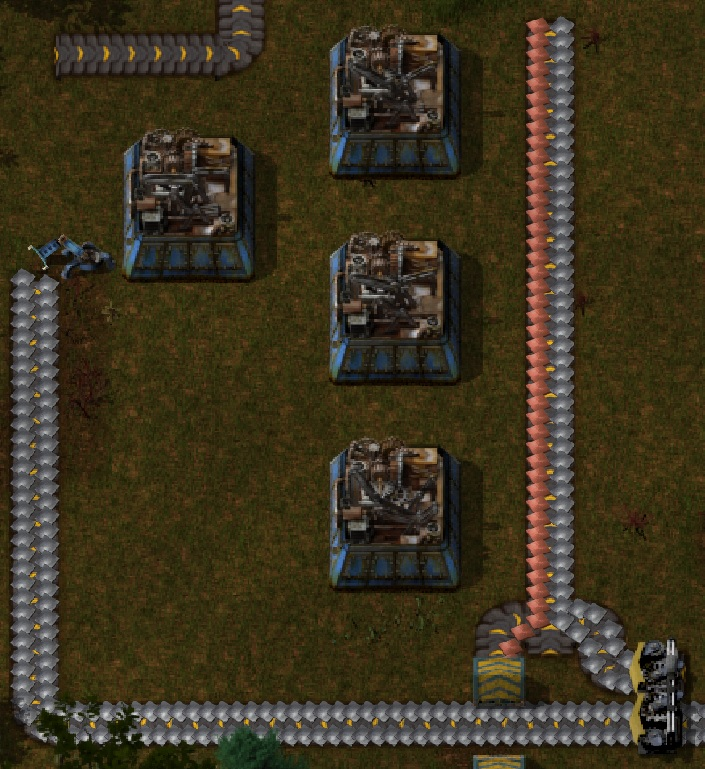 Factorio Guide Green Science Automation Yellow Inserter Main