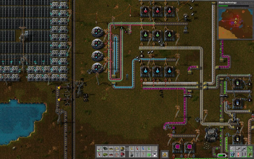 Good Factorio Guide U2013 Green Science Pack Automation In A Few Minutes (updated  With Video)