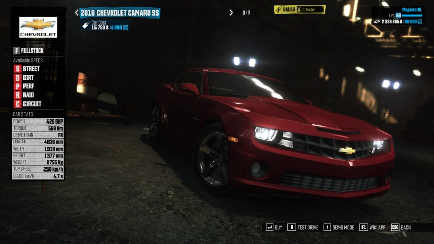 The Crew Guide Best Starting Car Chevrolet Camaro