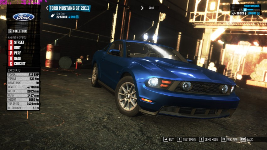 the-crew-guide-best-starting-car-ford-mustang-gt