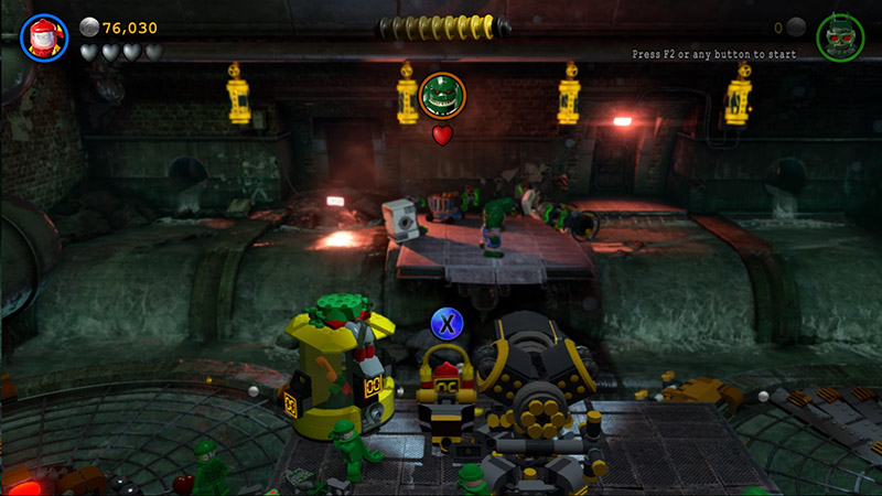 Lego Batman Walkthrough Level Pursuers In The Sewers Fire The Cannon And Capture Killer Croc on Lego Batman Killer Croc