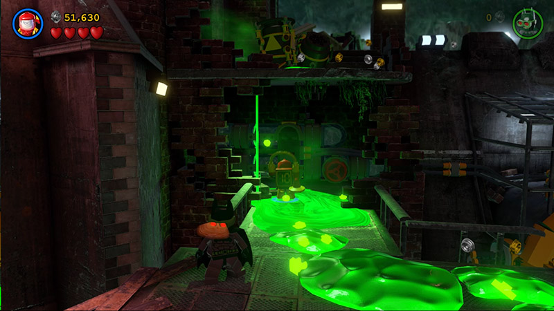 lego-batman-3-walkthrough-level-1-pursuers-in-the-sewers-pull-the-lever-to-get-rid-of-the-green-goo