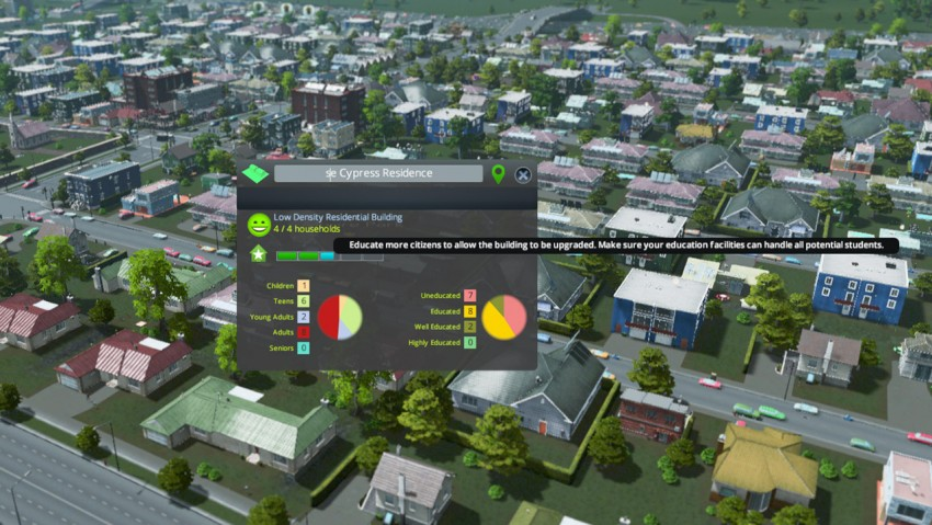 Simcity  High Wealth Building Shows As Medium Wealth