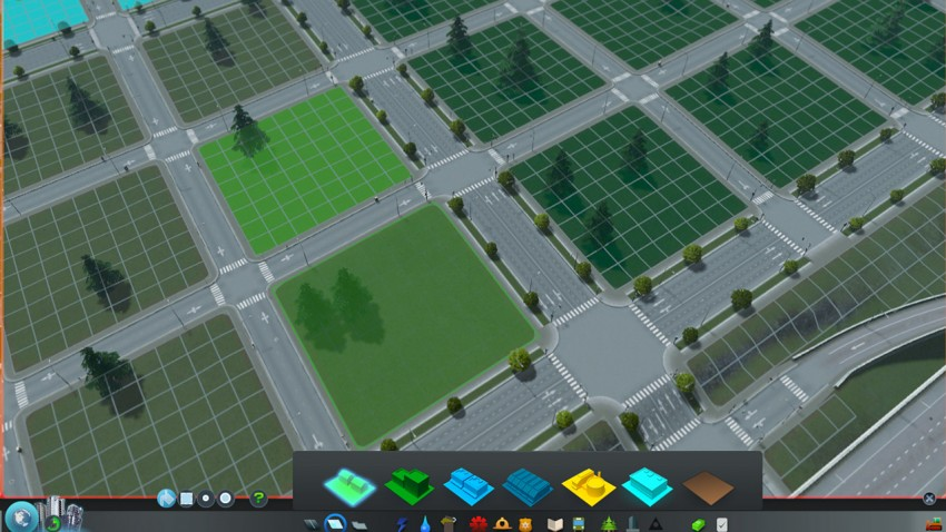 Creating zones is free in Cities Skylines, but building roads isn't! Don't create too many at the start of your game.